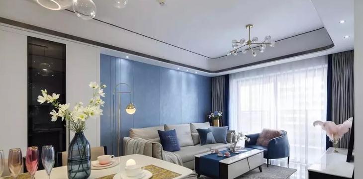 現代輕奢風三居室
